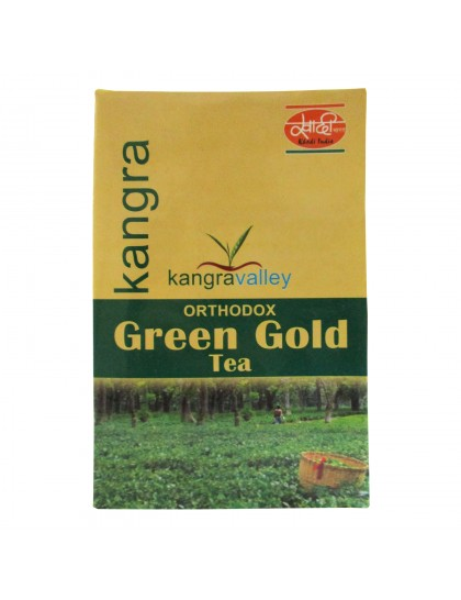 Khadi India Kangra Valley Orthodox Green Gold Tea (100g)
