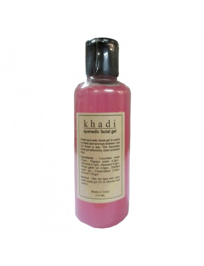 Khadi India Ayurvedic Face Gel (210ml)