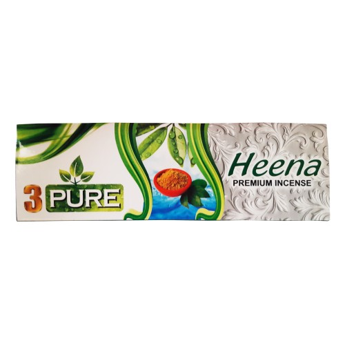 Khadi India 3 Pure Heena Premium Incense Box (100g)