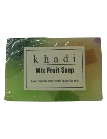 Khadi India Mix Fruit Soap (125g)