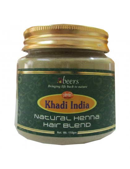 Khadi India Natural Heena Hair Blend (110g)