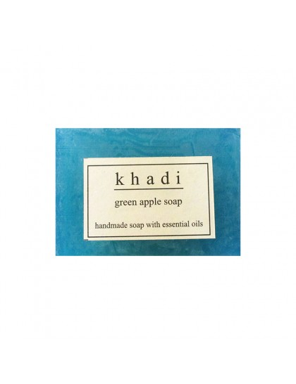 Khadi India Green Apple Soap (125g)