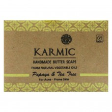 Khadi India Karmic Handmade Butter Soap For Acne - Prone Skin (100g)