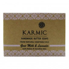Khadi India Karmic Handmade Butter Soap Suits Babies & Sensitive Skin (100g)