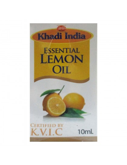 Khadi India Essential  Lemon Oil (10ml)
