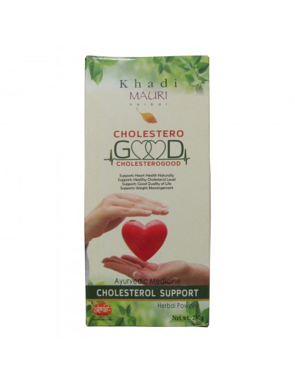 Khadi India Cholestero Good Herbal Powder - (250g)