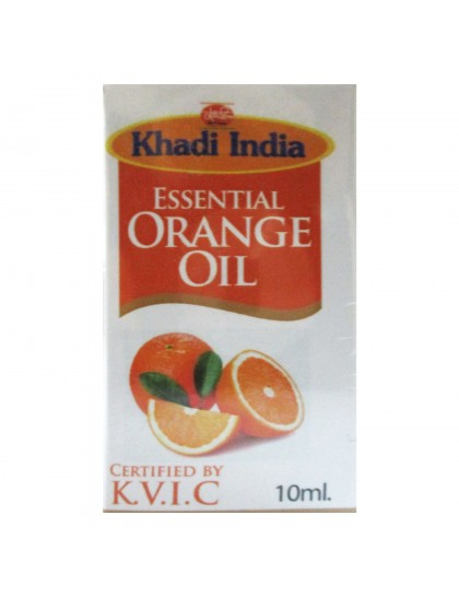 Khadi India Essential  Orange Oil (10ml)