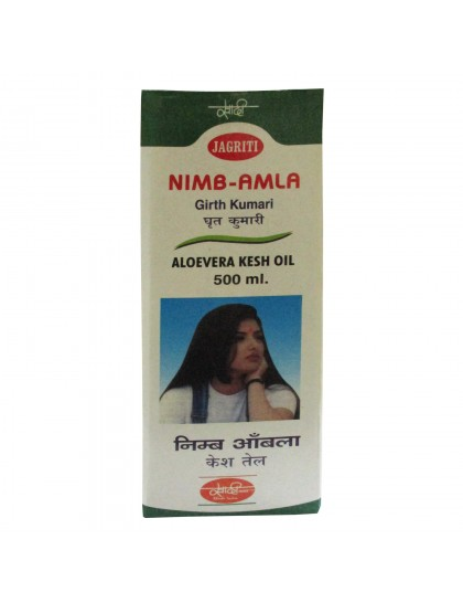 Khadi India Nimb-Amla Aloevera Kesh Oil (500ml)