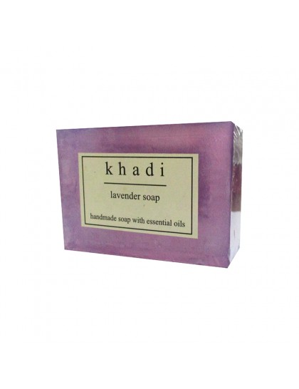 Khadi India Lavender Soap (125g)