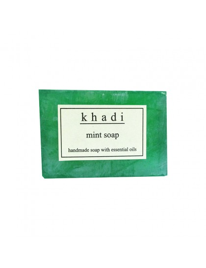 Khadi India Mint Soap (125g)