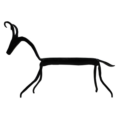 Handmade Wrought Iron Small Deer Showpiece/Decorative