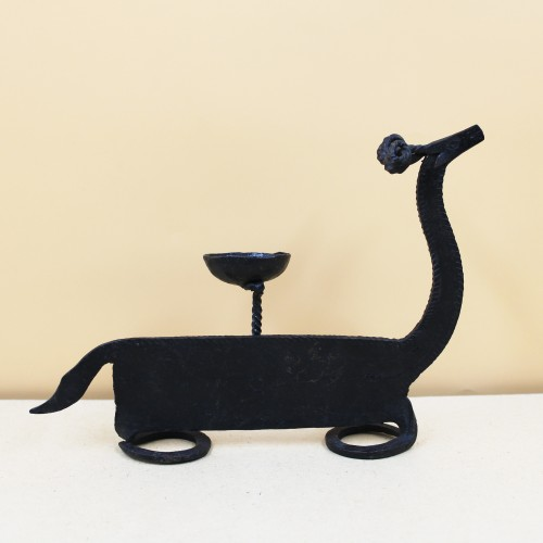 Handmade Wrought Iron Deer Candle Stand/ Candle Holder 08