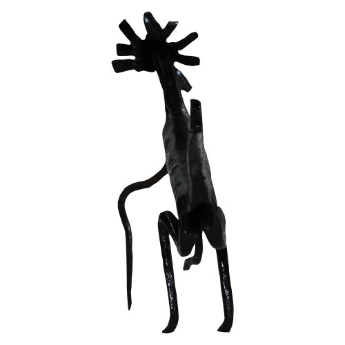 Handmade Wrought Iron Small Deer Decorative Showpiece 12