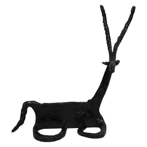 Handmade Wrought Iron Small Deer Decorative Showpiece 18