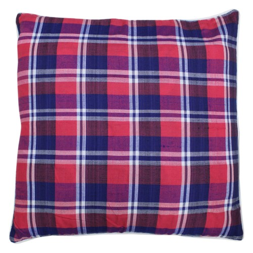 Handwoven Cotton Cushion Cover - 01