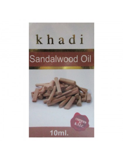 Khadi India Sandalwood Oil (10ml)