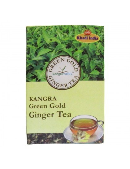 Khadi India Kangra Green Gold Ginger Tea (100g)