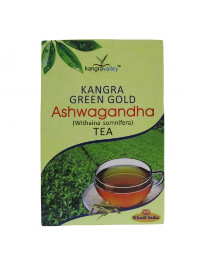 Khadi India Kangra Green Gold Ashwagandha Tea (100g)