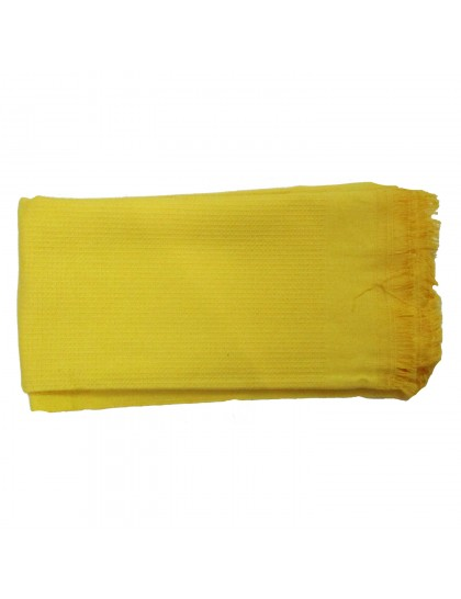 Khadi India Cotton Bath Towel (Yellow)