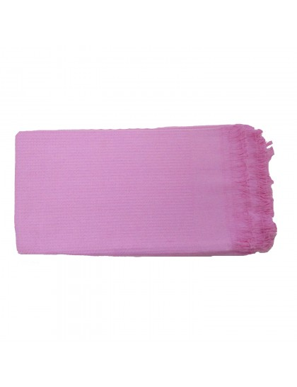 Khadi India Cotton Bath Towel (Pink)