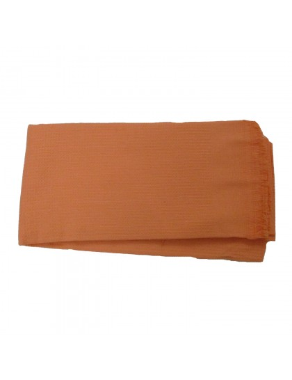 Khadi India Cotton Bath Towel (Orange)