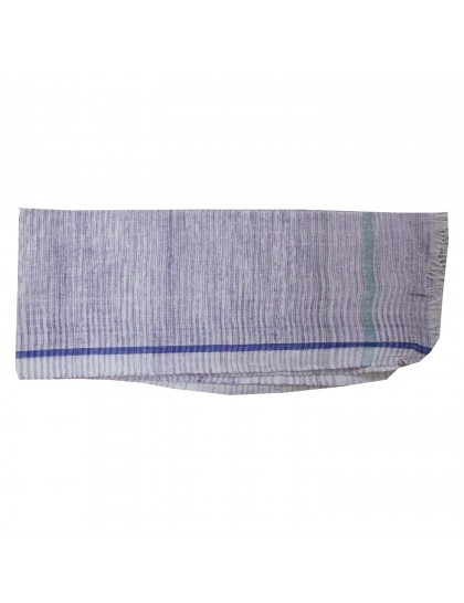 Khadi India Cotton Bath Towel (Lavender)