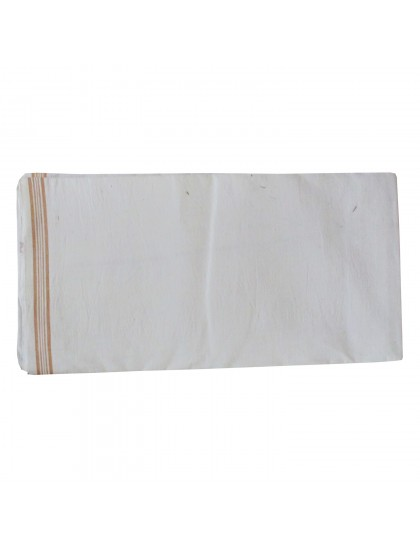 Khadi India Cotton Bath Towel (White)