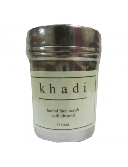 Khadi India Herbal Face-Scrub with Almond (75g)