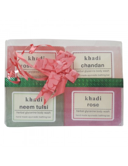 Khadi India Soap's Gift Pack Kit