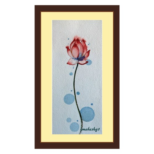 Beautiful Flower Painting (Set of 3)