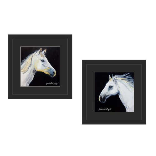 Beautiful Horse Painting (Set of 2)