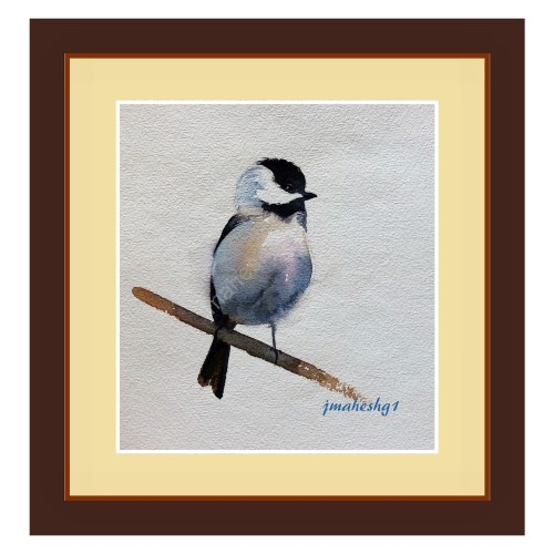 Beautiful Bird Painting (Set of 3)