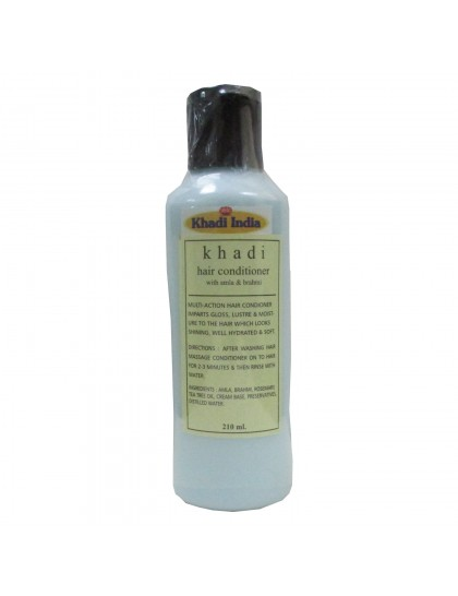 Khadi India Hair Conditioner With Amla & Brahmi (210ml)