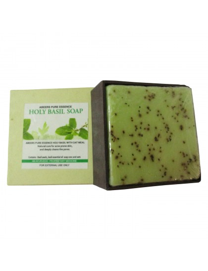 Khadi India Abeers Pure Essence Holy Basil Soap (140g)