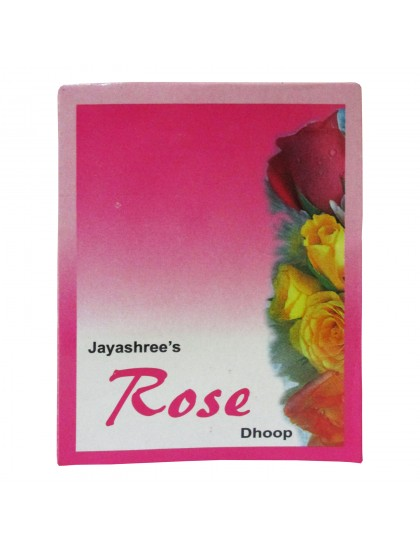 Khadi India Jayashree's Rose Dhoop (50gms)