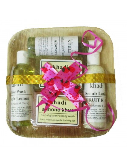 Khadi India Gift Pack Beauty Care Set
