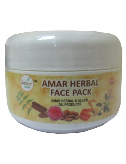 Khadi India Amar Herbal Face Pack (60g)