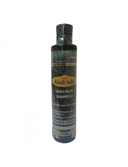 Khadi India Abeers Walnut Shampoo (225ml)