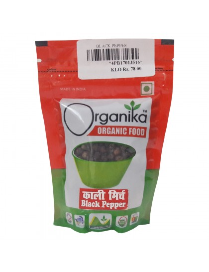 Khadi India Organika Organic Food Black pepper (50gm)