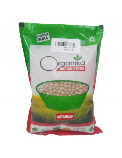 Khadi India Organika Organic Food Soyabean (500gm)