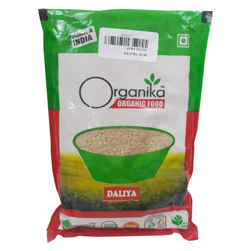 Khadi India Organika Organic Food Daliya (500gm)
