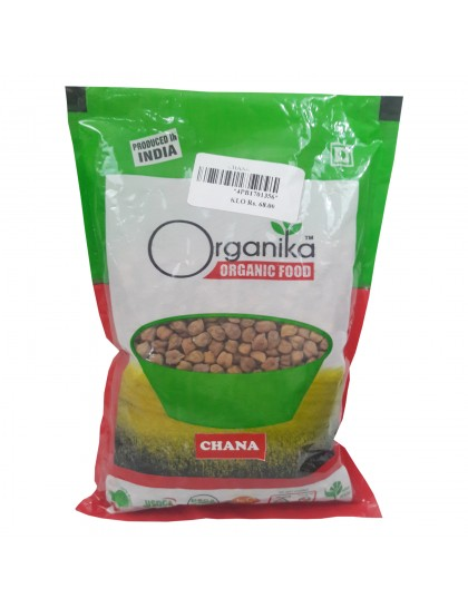 Khadi India Organika Organic Food Chana (500gm)
