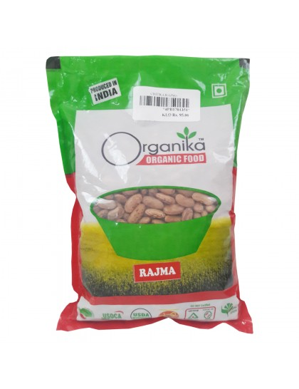 Khadi India Organika Organic Food Rajma (500gm)