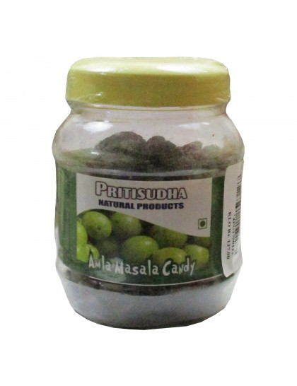 Khadi India Pritisudha Natural Product Amla Masala Candy
