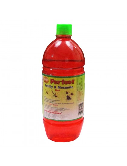 Khadi India Perfect Red Anti-Fly & Mosquito Floor Cleaner (1 Ltr)