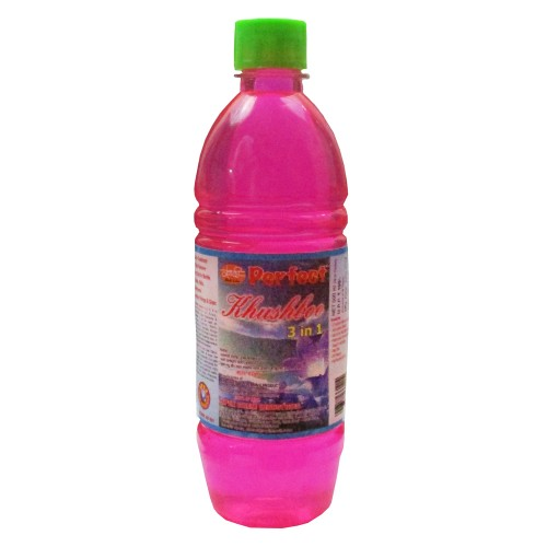 Khadi India Perfect Pink Anti-Fly & Mosquito Floor Cleaner (1 Ltr)