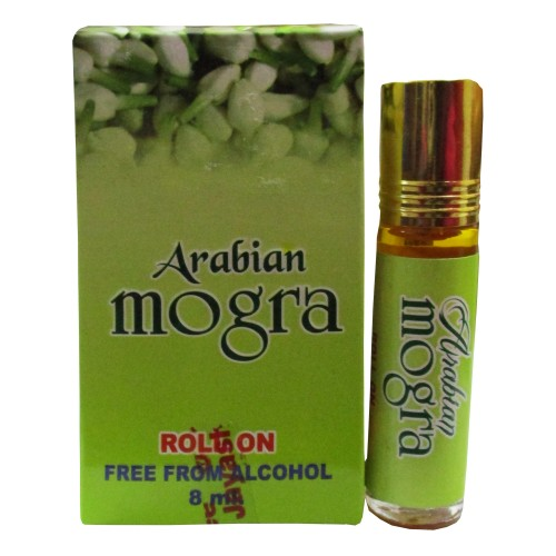 Khadi India Arabian Mogra Fragrance Attar Roll On (8ml)