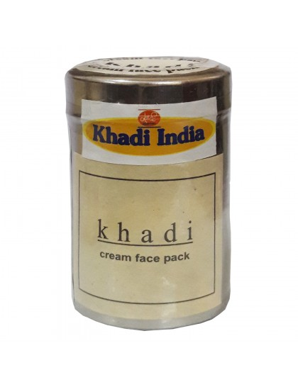 Khadi India Cream Face Pack (70gms)