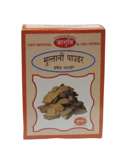 Khadi India Jagriti Multani Herbal Powder (100gm)