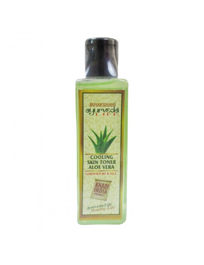 Khadi India Janakshahi Ayurveda Life Cooling Skin Toner With Aloe-vera(200ml)